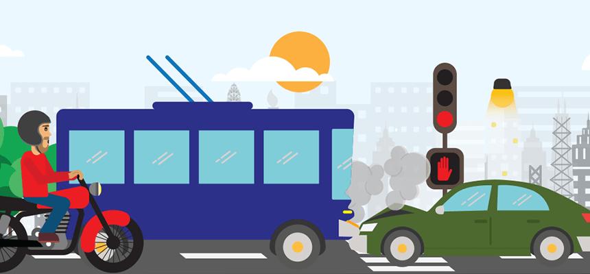 Accidentes en Transporte Público