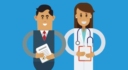 Colaboraciones: Abogados y Doctores