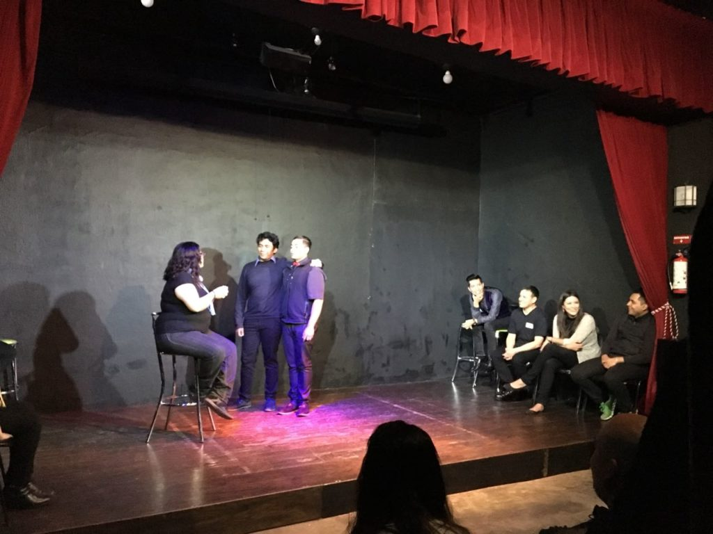 "Evento de ""improvización"" teatral de los integrantes de Grupo MedLegal"